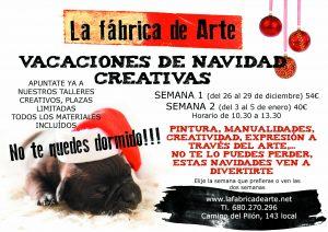 VACACIONES DE NAVIDAD CREATIVAS
