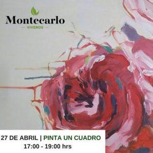 Pinta un cuadro con Viveros Montecarlo