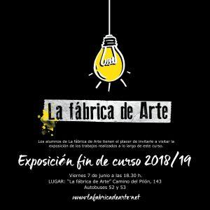 Exposición fin de curso 2018/19